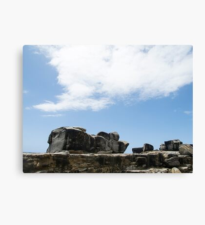 Yamba beach Canvas Print