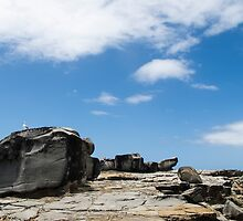 rocky lanscape by Anne Scantlebury