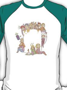 All The Fandoms, All The Tea T-Shirt