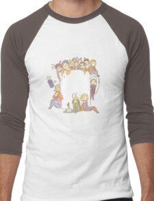 All The Fandoms, All The Tea Men's Baseball ¾ T-Shirt