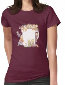 All The Fandoms, All The Tea Womens Fitted T-Shirt