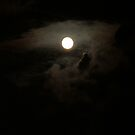 The Moon After a Storm -- iPhone/iPod case by Kari Sutyla