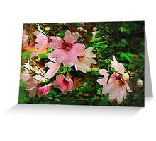 Spring in blossom Greeting Card