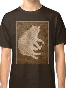 Fat Cat In the Grass Classic T-Shirt