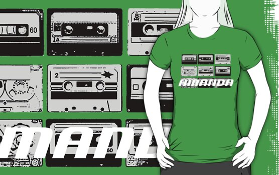 Amanda: Casette Tapes by cudatron