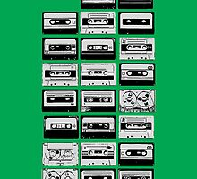 Cassette Tape iPhone Case by cudatron