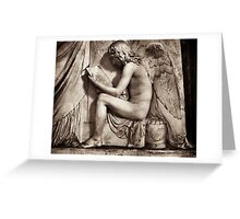 angel of poetry Greeting Card