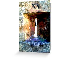 Convict view Greeting Card