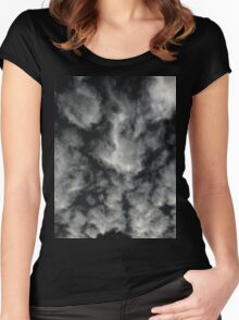 November Night (4467) Women's Fitted Scoop T-Shirt