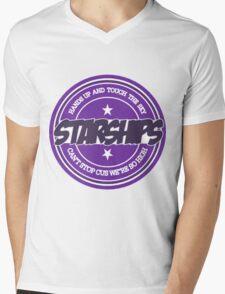 Nicki Minaj - Starships Old School Sticker Mens V-Neck T-Shirt