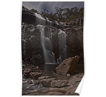 Mackenzie Falls in Moonlight, May 2012 Poster