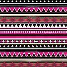Pink Aztec Pattern by sirmaverick