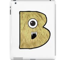Monster Letter B iPad Case/Skin