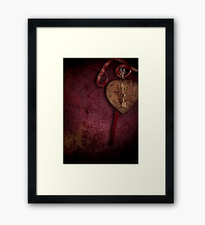 Love Me, Do Framed Print