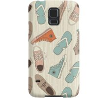doodle shoes iphone case Samsung Galaxy Case/Skin
