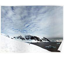 Danco Island , Antarctica Poster