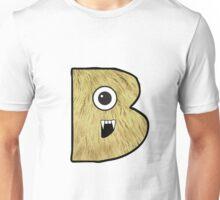 Monster Letter B Unisex T-Shirt