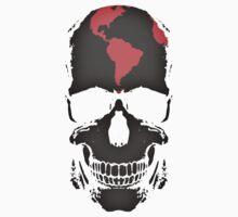 Globe Skull Kids Tee