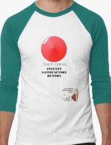 THE P.CHENG INSTANT SATISFACTION BUTTON Men's Baseball ¾ T-Shirt