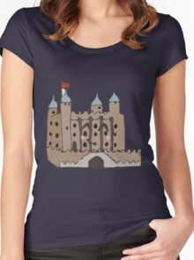 The tower of London  Women's Fitted Scoop T-Shirt