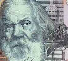 Australia $5 2001 Banknote Sticker
