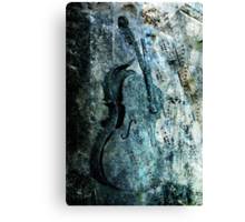 adagio for a broken dream Canvas Print