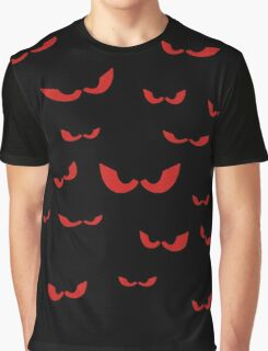 Eyes In the Dark (Red) Graphic T-Shirt