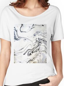 Marble Art V12 #redbubble Women's Relaxed Fit T-Shirt