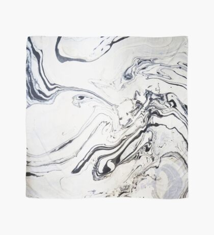 Marble Art V12 #redbubble Scarf