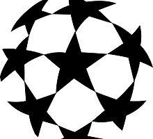 Soccer Ball Stars Football Sticker by ukedward