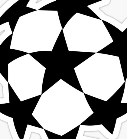 Soccer Ball Stars Football Sticker Sticker