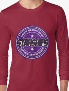 Nicki Minaj - Starships Vintage Scratched Sticker Long Sleeve T-Shirt