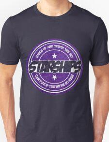 Nicki Minaj - Starships Vintage Scratched Sticker T-Shirt