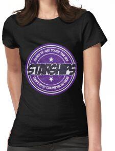 Nicki Minaj - Starships Vintage Scratched Sticker Womens Fitted T-Shirt