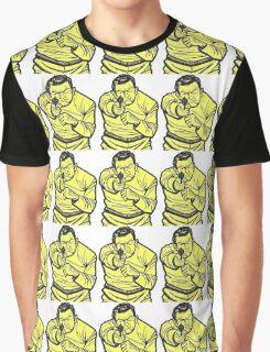 Thug Target Sticker Graphic T-Shirt