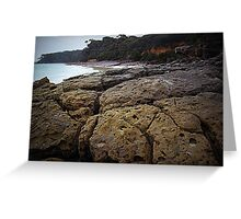 Rocky Shores - Nelson's Beach Greeting Card