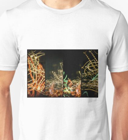Lightpainting Quads Art Print Photograph 5 Unisex T-Shirt