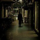 Melbourne Lane way walker by Andrew Wilson
