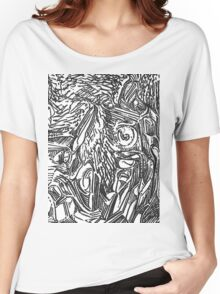 freestyle ink drawing 002 Women's Relaxed Fit T-Shirt