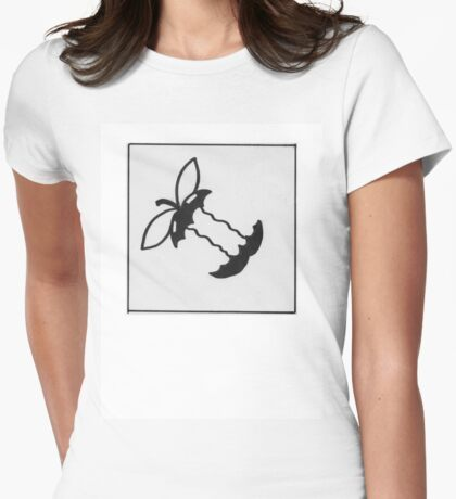 Applecore T-Shirt Womens Fitted T-Shirt