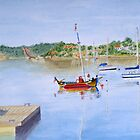 At anchor by HurstPainters