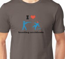 I Heart Hunting Accidents Unisex T-Shirt