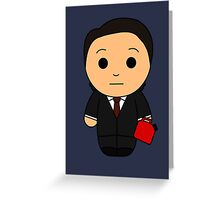 Charlie (Red Song) - Black Box Films: BOXIES Greeting Card