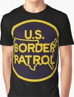 US Border Patrol Seal Sticker Graphic T-Shirt