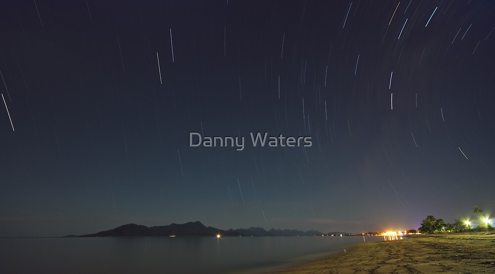 Cardwell QLD at night by Danny Waters