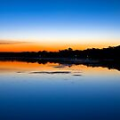 Budgewoi Lake May Sunset by Mathew Courtney