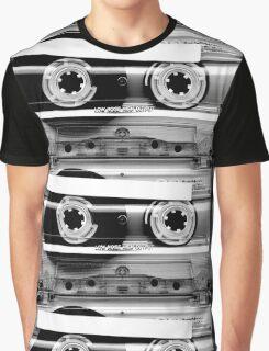 Cassette Tape Mixtape Clear Plastic Graphic T-Shirt
