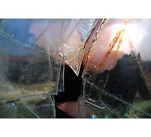 cracks and cleavage Photographic Print