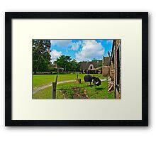 Plantation Stableyard Framed Print