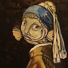 Fish With a Pearl Earring by Ellen Marcus